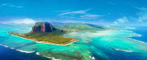 The beautiful island of Mauritius